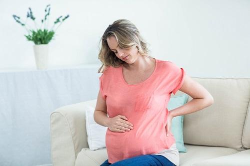 yalancı kasılma yaşayan bir hamile