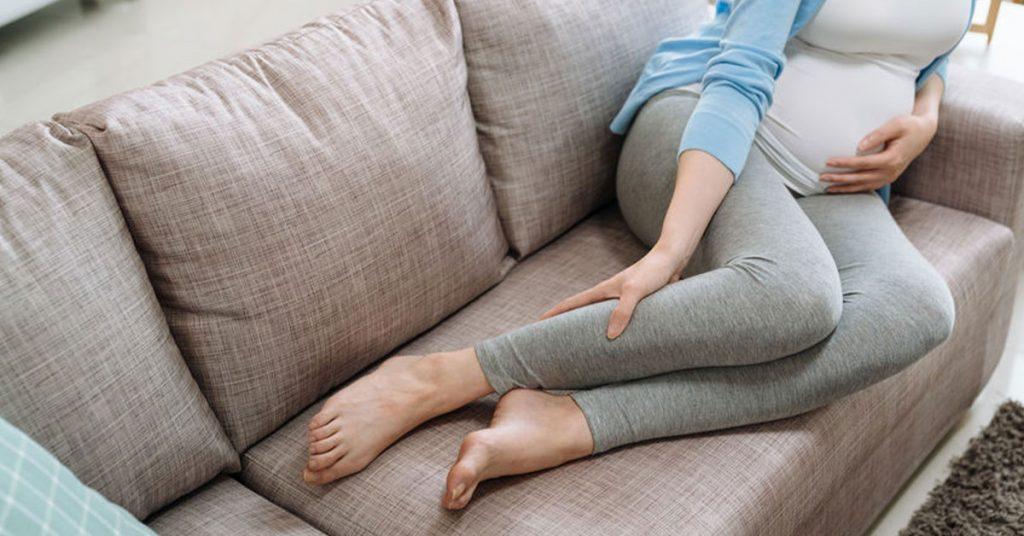 bacağı ağrıyan bir hamile