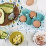 Avokadolu Yumurtalı Bebek Püresi