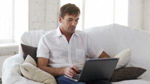 sağlıklı sperm - laptop adam