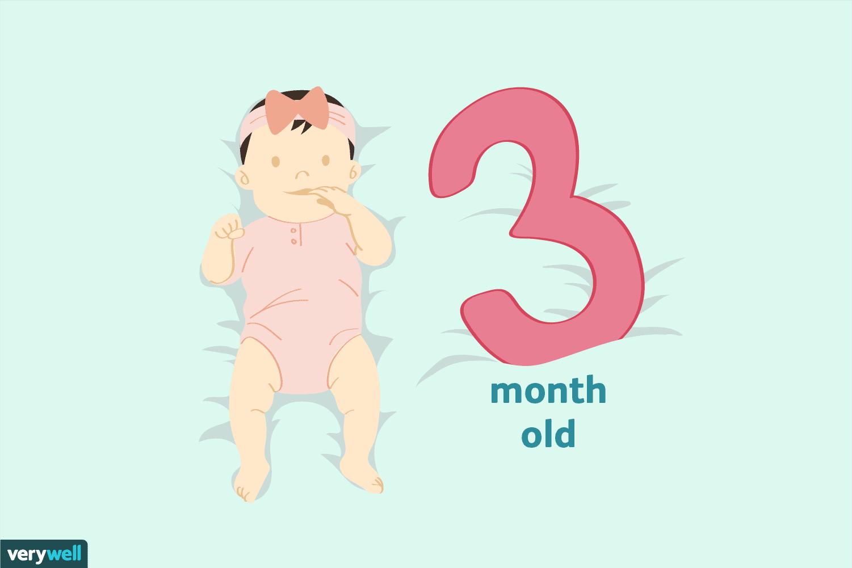 3 Aylık Bebek: Gelişimi, Sağlık Durumu, Beslenmesi, Uyku Düzeni