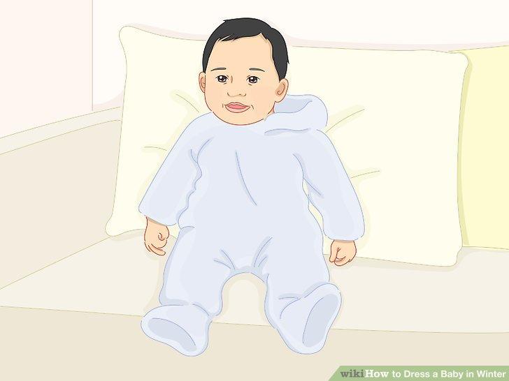 6-12 aylık çocuklar için bir ceket veya kar tulumunu yanınızdan ayırmayın.