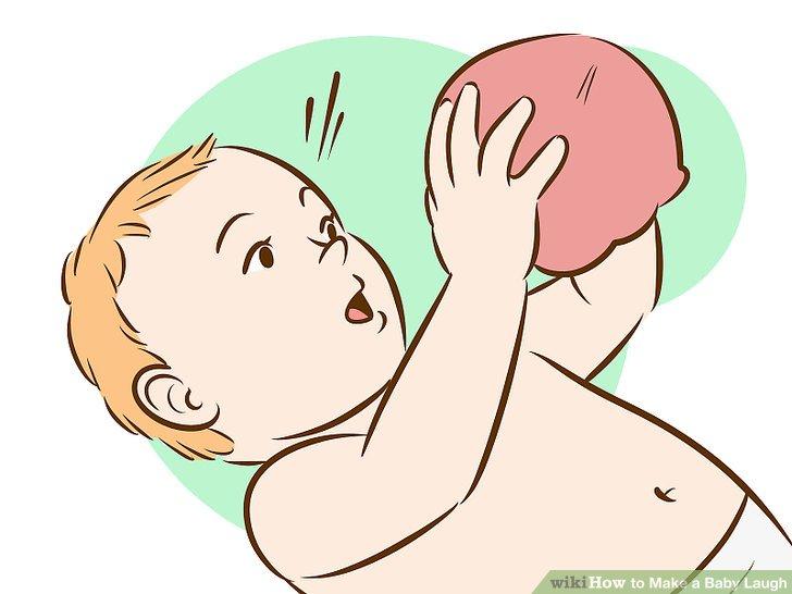 Bebeğe nesneleri gösterin