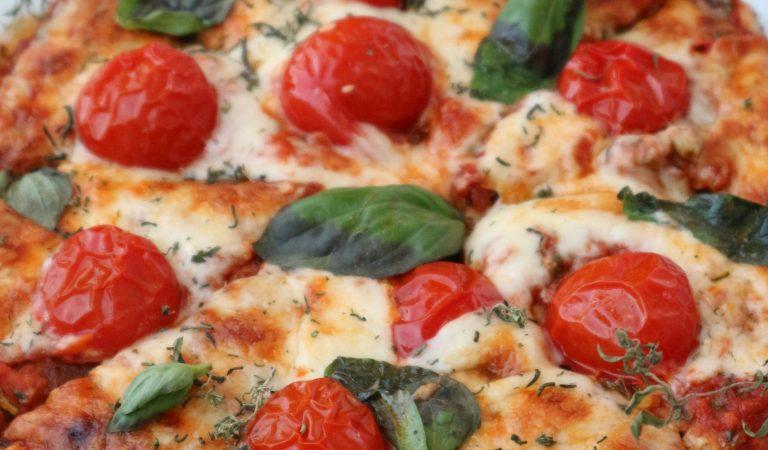 Kabak Tabanlı Pizza